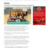 Ostern: 200. Basketballcamp am Hagerhof