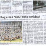 Vom Alltag eines NBA-Profis berichtet