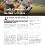 Louis Keber trifft Dennis Schröder