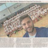 Basketball-Star Maxi Kleber überrascht Hagerhof-Nachwuchs